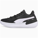 PUMA Clyde Hardwood (GS) - Black/White