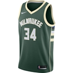 Nike Milwaukee Bucks Icon Swingman NBA Jersey - Giannis Antetokounmpo