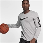 Nike Dry Hoops L/S - Dark Grey/Black
