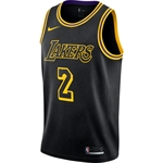 Nike Los Angeles Lakers City Edition Swingman NBA Jersey - Lonzo Ball