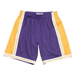Mitchell & Ness NBA HWC Swingman Shorts 1984-85 - Los Angeles Lakers