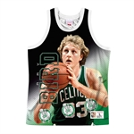 Mitchell & Ness NBA Behind The Back Tanktop - Larry Bird