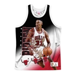 Mitchell & Ness NBA Behind The Back Tanktop - Scottie Pippen