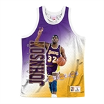 Mitchell & Ness NBA Behind The Back Tanktop - Magic Johnson