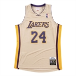 Mitchell & Ness NBA Authentic Gold Jersey - 2008-09 / Kobe Bryant