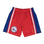 Mitchell & Ness NBA HWC Swingman Shorts 1997-98 - Philadelphia 76'ers