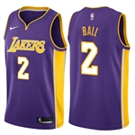 Nike Los Angeles Lakers Statement Swingman NBA Jersey - Lonzo Ball