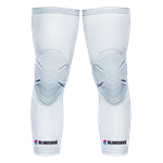 BLINDSAVE Knee Sleeves - White